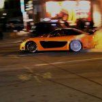 【ワイルドスピード】ハンの愛車 RX-7 オレンジに黒いラインがかっこいい!!